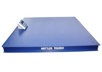 Cân sàn điện tử  Mettler Toledo (1,25x1,25) 1T, 2T, 3T